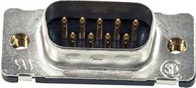 5747871-8, Vertical connector plug 9 pos. HD20
