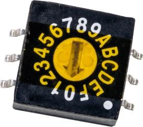 ERD116RMZ, переключатель кодовый 10 поз. SMD