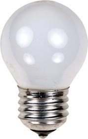 Лампа 40Вт, сферическая матовая, цоколь E27