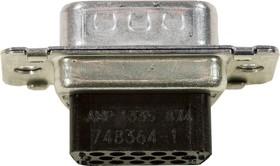 748364-1, Cable Connector HDP-22 Crimp Snap 15pos