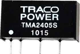 TMA 2405S, DC/DC преобразователь, 1Вт, вход 21.6-26.4В, выход 5В/200мА