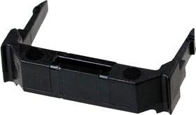 499252-9, AMP-Latch-14 планка для розетки черная