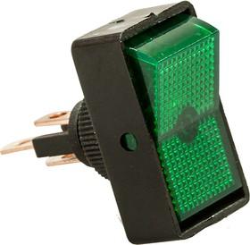 ASW-11D/G, Переключатель, зеленый, 12В