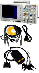 MSO5022S, осциллограф 2кан 25МГц 100Мв/с