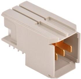 Фото 1/2 5-5223961-1, Conn Power M 3Power POS 2mm Press Fit RA Thru-Hole Box/Tube