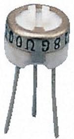 3329H-1-253LF, Res Cermet Trimmer 25K Ohm 10% 0.5W(1/2W) 1(Elec)/1(Mech)Turns (6.35 X 4.57mm) Pin Thru-Hole Tube