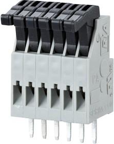 AST0211204, Клеммная колодка типа провод к плате, 2.5 мм, 12 вывод(-ов), 28 AWG, 20 AWG, 0.5 мм², Вставной