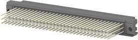 1-148059-5, Разъем DIN 41612, Eurocard Type C Series, 96 контакт(-ов), Гнездо, 2.54 мм, 3 ряда, a + b + c