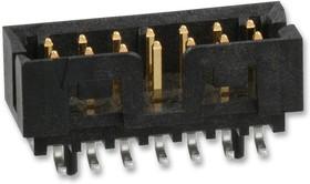 87832-1210, Разъем типа провод-плата, 2 мм, 12 контакт(-ов), Штыревой Разъем, Milli-Grid 87832 Series