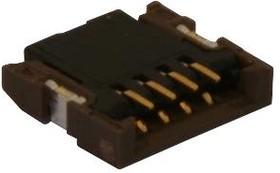 501461-0891, FFC / FPC разъем, 0.5 мм, 8 контакт(-ов), Гнездо, Easy-On 501461 Series, Поверхностный Монтаж, Низ