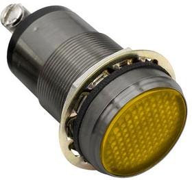 "556170A204F, 1""FLAT YLW LED PMI CONST INT 07AH2063"