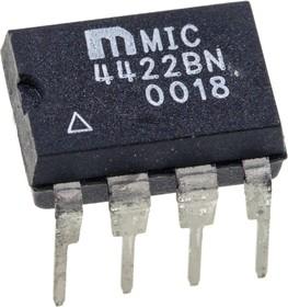 MIC4422BN 9A Peak Low-Side MOSFET 8-Pin PDIP