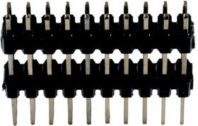 PLHD-20, межплатный соединитель 2.54мм 2х10 3.0x6.0мм