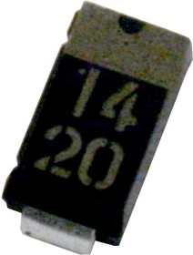 1SR154-400TE25, 400 V 1 A Surface Mount Rectifier Diode - SOD-106