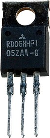RD06HHF1-101, Si 30MHz 6.0W 12.5V TO220