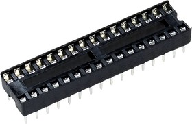 SCS-32 DIP панель 32 контакта узкая