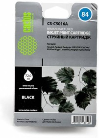 Картридж CACTUS CS-C5016A №84, черный