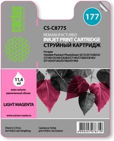 Картридж CACTUS CS-C8775 №177, светло-пурпурный