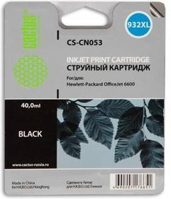 Фото 1/2 Картридж CACTUS CS-CN053 №932, черный