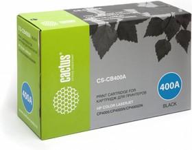 Картридж CACTUS CS-CB400A черный