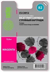 Картридж CACTUS CS-C4912 №82, пурпурный