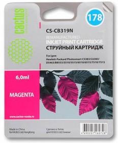 Картридж CACTUS CS-CB319N №178, пурпурный