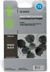 Фото 1/2 Картридж CACTUS CS-C9370 №72, черный