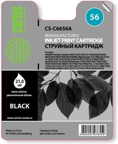 Картридж CACTUS CS-C6656A №56, черный