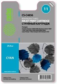 Картридж CACTUS CS-C4836 №11, голубой