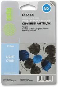Картридж CACTUS CS-C9428 №85, светло-голубой