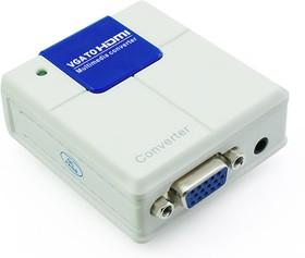Фото 1/3 GC-VGA2HD02, Мультимедиа конвертер VGA + AUDIO -  HDMI