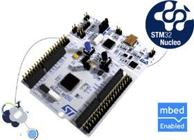 Фото 1/3 NUCLEO-F103RB, Отладочная плата на базе MCU STM32F103RBT6 (ARM Cortex-M3), ST-LINK/V2-1, Arduino-интерфейс