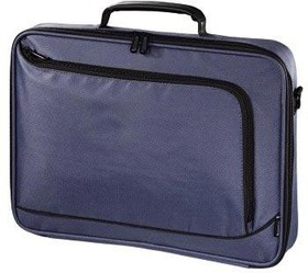 "Фото 1/2 Сумка для ноутбука HAMA Sportsline Bordeaux 15.6"" политекс синий [00101172]"