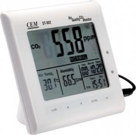 DT-802, Настольный анализатор воздуха с часами