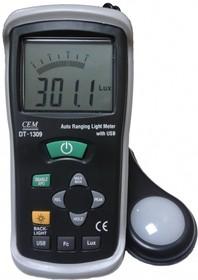 DT-1309, Люксметр с USB