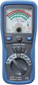 DT-5503, Аналоговый тестер изоляции и электропроводимости