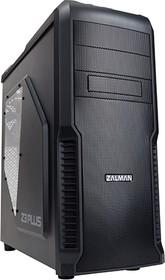 Корпус ATX ZALMAN Z3 Plus, Midi-Tower, без БП, черный