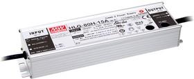 HLG-80H-20A, AC/DC LED, блок питания для светодиодного освещения