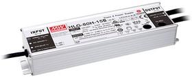 HLG-80H-24AB, AC/DC LED, блок питания для светодиодного освещения