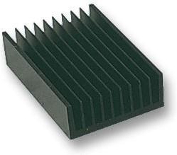 96CN-03000-A-200, Теплоотвод, экструдированный диапазон - 4, черный анодированный, 0.28 °C/Вт, 300 мм, 40 мм, 300 мм