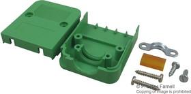 KGG-PC 4/5, Пылезащитная крышка, 5-позиционный, Корпус для кабеля, COMBICON, PC штекерами, Серия KGG-PC
