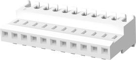 4-640621-1, Разъем типа провод-плата, 2.54 мм, 11 контакт(-ов), Гнездо, MTA-100 Series, IDC / IDT, 1 ряд(-ов)