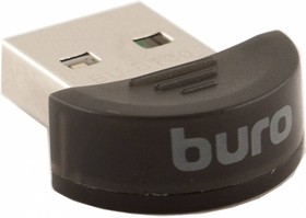 Фото 1/5 Адаптер USB Buro BU-BT30 Bluetooth 3.0+EDR class 2 10м черный