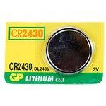 Фото 2/2 CR2430 (DL2430), Элемент питания литиевый (1шт) 3В