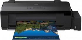 Принтер EPSON L1800, струйный, цвет: черный [c11cd82402]