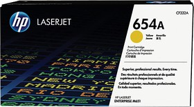 Картридж HP 654A желтый [cf332a]
