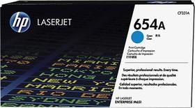Картридж HP 654A голубой [cf331a]