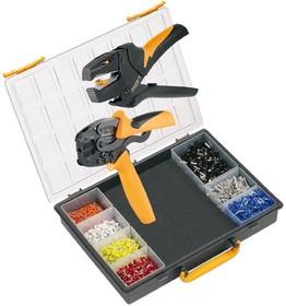 Crimp-Set PZ3, Набор инструмента для обжима (инструмент + наконечники)