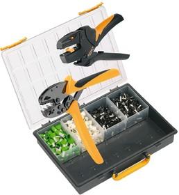 Crimp-Set PZ ZH16, Набор инструмента для обжима (инструмент + наконечники)