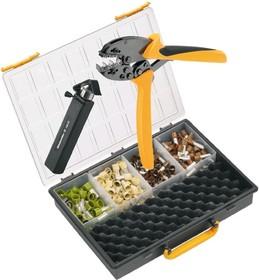 Crimp-Set PZ50, Набор инструмента для обжима (инструмент + наконечники)